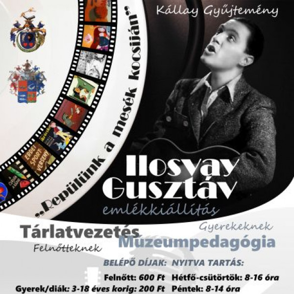 Ilosvay Gusztáv emlékkiállítás megnyitója