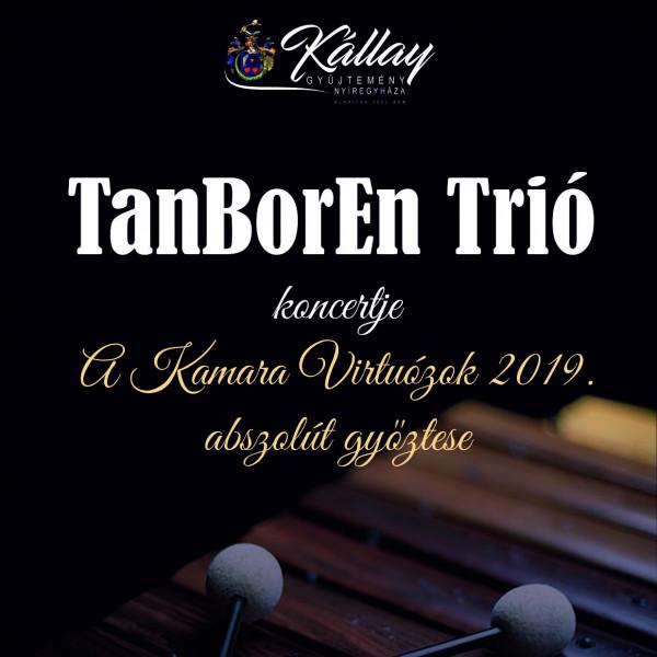 TanBoRen Trió koncertje Nyíregyházán a Kállay Gyűjteményben