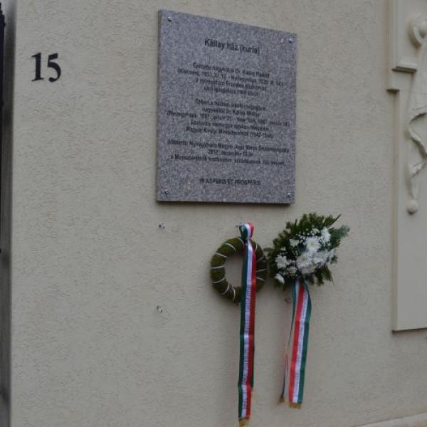 Dr. Kállay Rudolfra emlékezünk