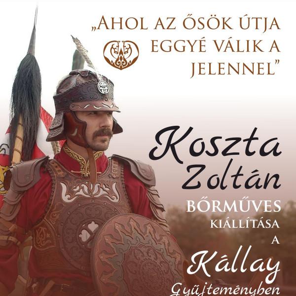 Koszta Zoltán bőrműves kiállítása